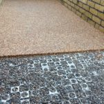 Install resin bound onto SureCell