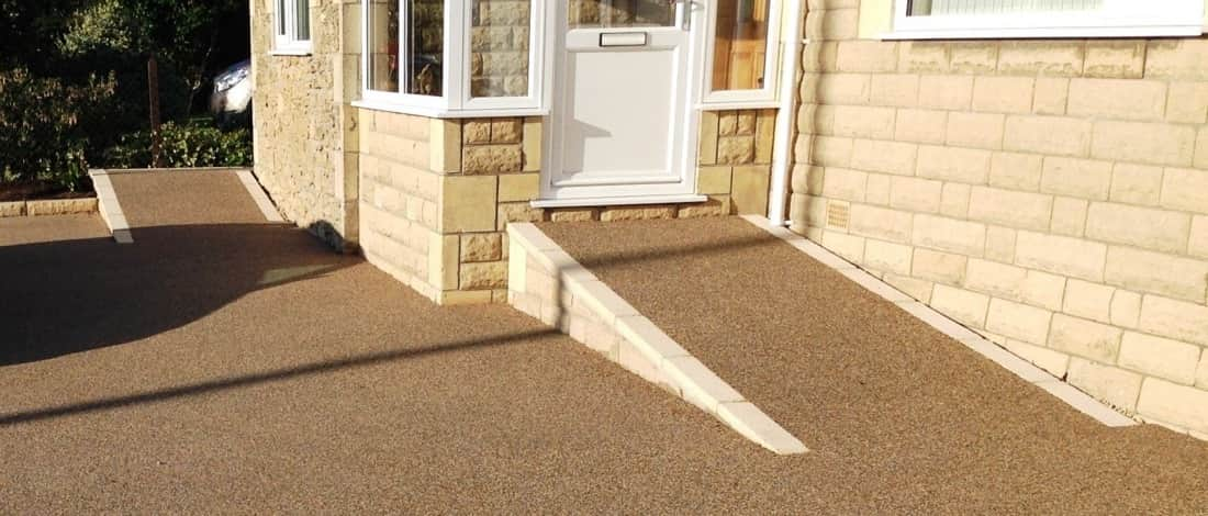 Permeable Paving Ramps For Residential Projects Sureset
