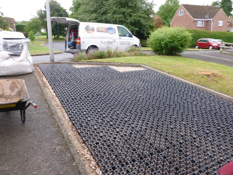 Surecell Driveway Bratton Residential Sureset Permeable