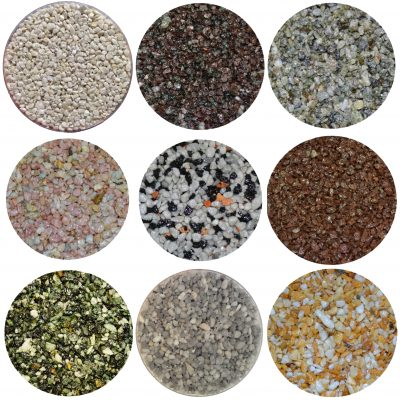 Luxury Crushed Marbles