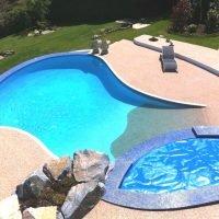 Swimming pool surround I Natural Aggregate