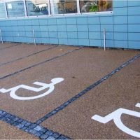 Disabled parking bays I Natural Aggregate