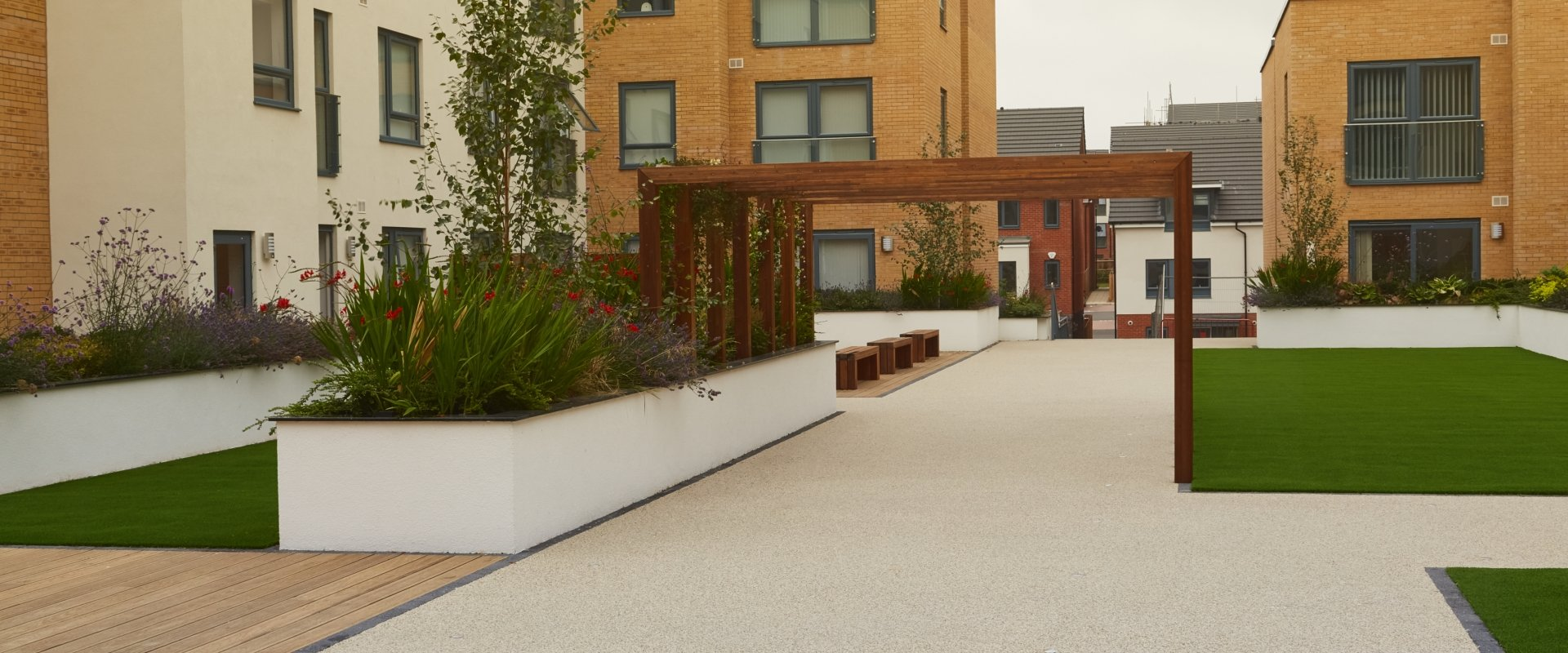 Kennet Island Reading Sureset Permeable Paving