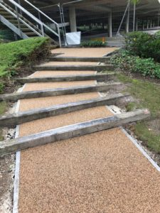 Resin Bound Paving Steps
