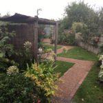 DIY Garden pathway design