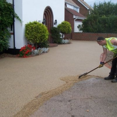 SureSet resin bound installation