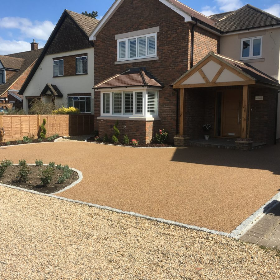 Resin Driveways: Bound Permeable Driveway Paving Solution