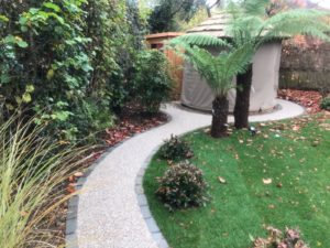 Resin Bound Garden Path