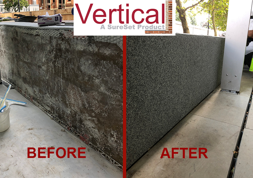 Vertical before & after